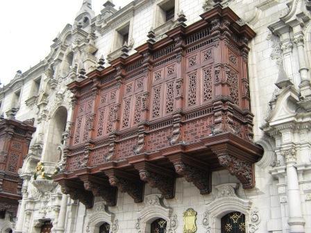 Balcone do Palacio Arzobispal